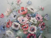 Watercolour Vibrant Flowers Listed Artist Jack Carter
