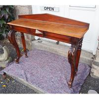 Narrow Scottish Oak Console Hall Table (5 of 7)