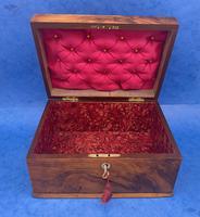 Walnut Jewellery Box c.1900 (11 of 14)