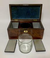 Antique Georgian Mahogany Tea Caddy Box (4 of 12)