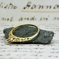 The Vintage Ornate High Rise Diamond Ring (4 of 5)