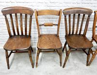 6 Windsor Kitchen Chairs, Assorted Styles (5 of 6)
