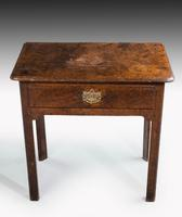 Mid 18th Century Single Drawer Side Table, on Square Shaped Supports (3 of 3)
