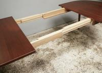1960's Mid Century Danish Long Extendable Dining Table (6 of 6)