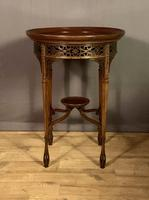 Fine Quality Edwardian Side or Lamp Table (9 of 10)