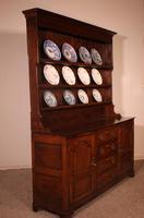 English Oak Dresser & Rack Early 18th Century (11 of 12)