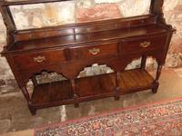 Georgian Oak Sussex Dresser with Rack (2 of 11)