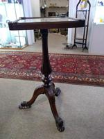 Victorian Rosewood Quality Lamp Table (3 of 9)