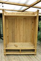 Fabulous & Exceptional Quality! Big Old Pine Double 'Knock Down' Wardrobe (15 of 17)