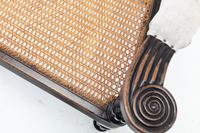 19th Century Anglo Indian Ebonised Teak Armchair (5 of 11)
