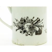 Worcester Porcelain Royal Commemorative Frederick II Tankard 18th Century / Early 19th Century (4 of 10)