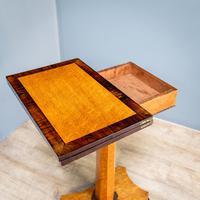 Bird's Eye Maple Folding Table (3 of 12)