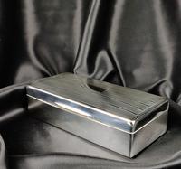 Late 1920's Silver Cigar Case