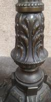 French Art Deco Bronzed Standard Lamp C1910 (2 of 11)