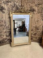 French 19th Century Gilt Wall Mirror with Carved Decoration (7 of 9)