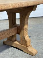 Great Rustic French Bleached Oak Coffee Table (18 of 25)