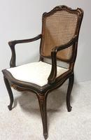 Excellent French Ladies Bergere Desk Chair