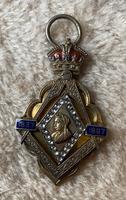 Silver Gilt Victoria 1897 Jubilee Masonic Commemorative (3 of 5)