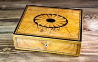 Beautiful Georgian Figured Walnut Jewellery Box 1800 (5 of 13)