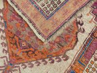 Antique Sarab Carpet Runner Rare Colours (4 of 9)