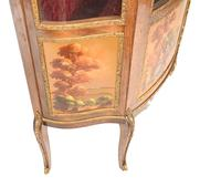 French Display Cabinet Vernis Martin Painted Bijouterie c.1900 (13 of 16)