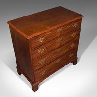 Antique Gentleman's Chest of Drawers, English, Mahogany, Bedroom, Georgian, 1800 (7 of 12)
