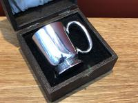 Solid Silver Christening Mug in Fitted Case - Sheffield 1936 (3 of 10)