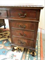 Mahogany Pedestal Desk (4 of 7)
