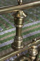 Spectacular Victorian All Brass Half Tester (10 of 16)