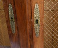 French Antique Bookcase Second Empire Bibliotheque Cabinet (14 of 20)