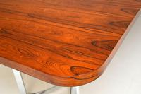 Merrow Associates Rosewood & Chrome Dining Table by Richard Young (12 of 14)