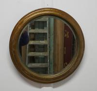 19th Century Round French Wall Mirror (3 of 7)