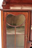 Inlaid Mahogany Antique Display Cabinet Edwardian (8 of 12)
