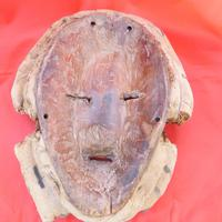 Genuine Antique  African Tribal Mask (3 of 3)