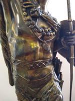 Bronze Warrior Torchere (5 of 12)