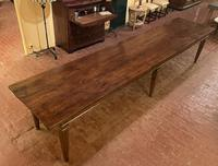 Large Monastery Table From 4m Long-19th Century-netherlands (6 of 9)