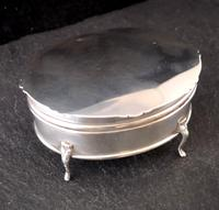 Antique Sterling Silver Jewellery Casket, Box (4 of 15)