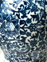 Beautiful Pair Small Chinese  Qing Style Porcelain Peony Vases (33 of 33)