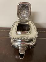 Edwardian William Aitken Solid Silver Tea & Coffee Set Birmingham 1903 (11 of 14)
