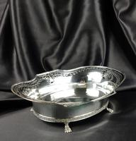 Large Edwardian Silver Centre Piece (3 of 12)