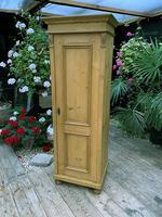 Fabulous Old Stripped Pine Pine Cupboard / Cabinet/ Wardrobe (3 of 11)