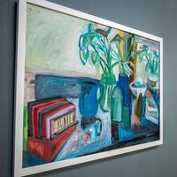 Large Still Life with Lillies – Oil on Canvas (3 of 8)