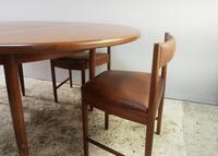 1970's G Plan mid century extending dining table and 4 dining chairs (5 of 6)