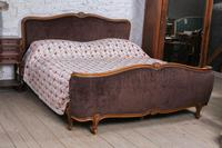 Louis XV Style Upholstered Super King Size Bed