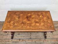 Antique Walnut Table with Barley Twist Legs (2 of 10)
