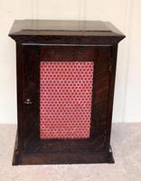 Oak Bracket Clock Supplied By Harrods (8 of 11)