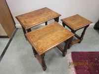 Good Quality Oak Nest of Tables (3 of 4)
