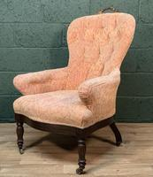 French Louis Philippe Rosewood Armchair (5 of 10)