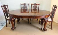 Wonderful Antique Victorian Mahogany Extending Dining Table (15 of 15)