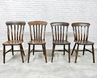 Harlequin Set of 4 Kitchen Windsor Chairs (4 of 5)